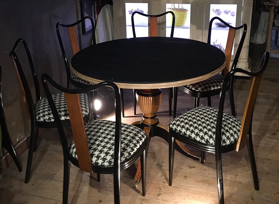 Tavolo con sedie controvena restauro e arredo design - Dwg tavolo con sedie ...
